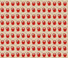 Little Monsters fabric by lulakiti on Spoonflower - custom fabric