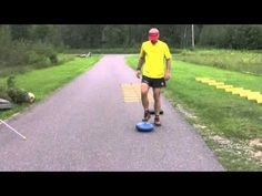 Nordic Ski Pre Season Training ▶ Dynamic Balance - Toe Touch - YouTube
