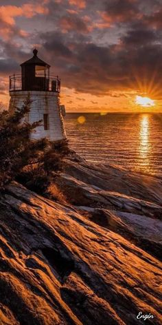 Lighthouse - Claudia A - Lighthouse Pictures, Lighthouse Art, Lighthouse Lighting, Landscape Photography, Nature Photography, Scenic Photography, Night Photography, Landscape Photos, Beautiful Sunset