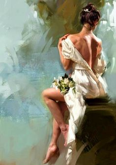 Maher Art Gallery: Jon PAUL / Cover Art for Romance - New cover art for The Belated Bride by Karen Hawkins Woman Painting, Figure Painting, Painting & Drawing, Cover Art, Beautiful Paintings, Erotic Art, Belle Photo, Art Oil, Figurative Art