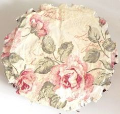 Pastelowe róże - obrazek na brzozie  w ACOYA JEWELLERY na DaWanda.com
