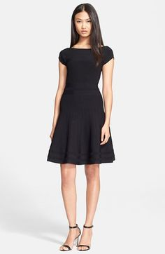 kate spade new york cap sleeve scuba dress available at #Nordstrom