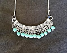 Boho Necklace Gypsy Necklace Tibetan Necklace by LouluJewels