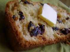 Cherry Almond Bread; have made two times; VERY dry; would like better if had a crumb topping?