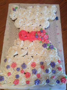 Pull apart cupcake dress