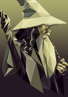 Gandalf the Grey by Julia Alberts, via Behance