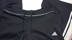 Adidas Women's Fitness Pants Size S Black Cropped Athletic Yoga Wide Leg