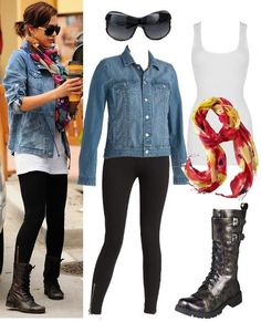 Jessica Alba has casual cool all figured out.  Wish my old doc's still fit!!  :(