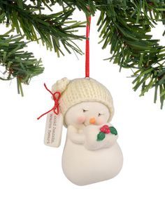 Love this Snowpinions 'Cold Hands Warm Heart' Snowman Ornament by Snowpinions on #zulily! #zulilyfinds
