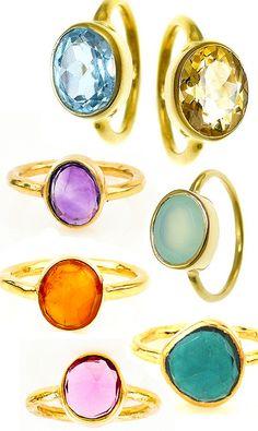 Lisa Eldridge-style rings