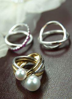 Yohji Yamamoto and Mikimoto diamond jewelry line, Japan. Japanese diamonds, for a Japanese princess?