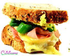 Un sandwich bajo en calorías y de lo más apetitoso.