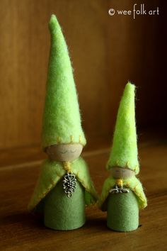New Gnomes in the Thicket | Wee Folk Art  Pattern