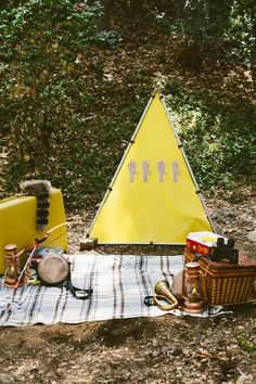 Moonrise Kingdom Birthday Party | Grey Likes BabyGrey Likes Baby