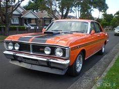 XW GT Falcon, a true muscle car. Australian Muscle Cars, Aussie Muscle Cars, Best Muscle Cars, Retro Cars, Vintage Cars, Ford Girl, Ford Classic Cars, Ford Falcon, Hot Rides