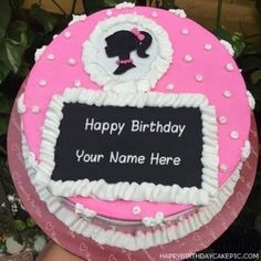 Create fake custom birthday cake pics