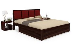 Rejuvenate the style of any Double #Bedroom with Ryan storage Double #Bed as the centerpiece.