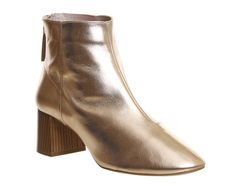 SHOP: These Office Rose Gold boots are on sale! Will be perfect with everything, especially denim.