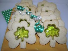 stained glass cookies....so cool! could be used with any shape