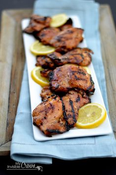"""Would probably leave off the """"simple syrup"""" at the end, as I don't think I need sugar added to my chicken. Jalapeño Buttermilk Brined Grilled Chicken"""