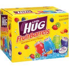 (Advertisement) Little Hug® Fruit Drink Barrels Original Variety Pack 8 Fl Oz 40 Count - 3 PACK Healthy Juices, Healthy Drinks, Healthy Snacks, Smoothies For Kids, Fruit Smoothies, Healthy Smoothies, Fruit Drinks, Beverages, Fruit Cups