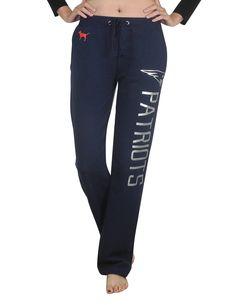 Amazon.com  Pink Victoria s Secret NE PATRIOTS Womens Pajama Pants L Dark  Blue  Clothing. NFL Fans Paradise · New England Patriots 8b7f0dc00
