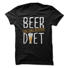 Beer Diet T-Shirts, Hoodies. VIEW DETAIL ==► https://www.sunfrog.com/Drinking/Beer-Diet.html?id=41382