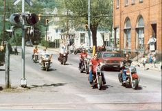 First Ride, Moto Guzzi Rally New Cumberland, WV.