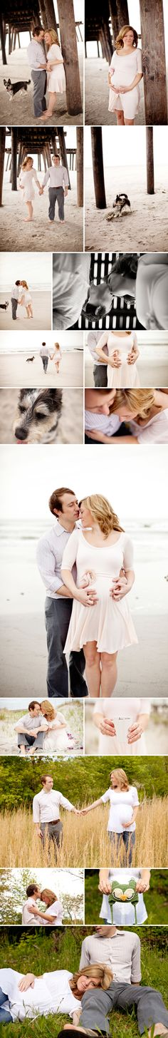 Beach Maternity Photography  Rosalie and Michael  1 | Cape May Maternity Photographer