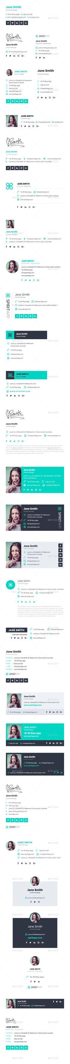 360 Professional E-Signature Templates