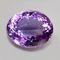 Oval natural x mm Brazil Amethyst Amethyst Gemstone, Natural Gemstones, Brazil, Nature, Naturaleza, Nature Illustration, The Great Outdoors, Mother Nature, Scenery
