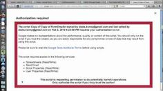 Using Google Forms for Teacher Observations (Auto Email Feedback), via YouTube.