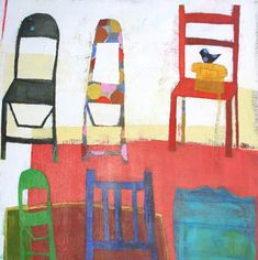 'Chairs' by Wendeline Simpson Matson