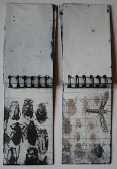 Sue Brown Printmaker: Field Notes: I love this! Moleskine, Artist Sketchbook, Sketchbook Pages, Gravure Illustration, Illustration Art, Books Art, Field Notes, Creative Journal, Sketchbook Inspiration