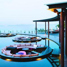 Hotel Pool Detail - Thailand.