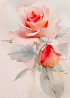 What is Your Painting Style? How do you find your own painting style? What is your painting style? Colorful Art, Flower Painting, Art Painting, Rose Painting, Watercolor Flowers Paintings, Floral Art, Painting, Art, Floral Watercolor