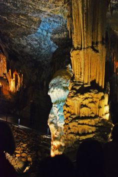 Postojna Cave, Slovenia - Connected to this awe-inspiring place through my Great Grandma, Jana.  The train ride deep into the cave is very fun!