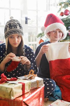 Christmas Morning, Winter Hats