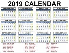 2019 calendar with holidays printable calendar2019 printablecalendar calendar 2019 template blank calendar