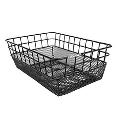 Bike Baskets - Sunlite Rack Top WireMesh Basket 1025 x 15 x 5 Black ** You can get more details by clicking on the image.