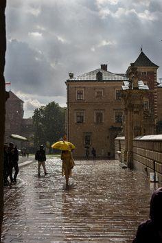 downpoor in Krakow | beckyldavies | Flickr