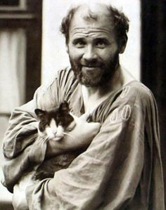 101 years ago on this day, artist Gustav Klimt died of pneumonia in Vienna, Austria. Klimt was an Austrian symbolist painter and the leader of the Vienna Secession movement. He is known for his. Gustav Klimt, Art Klimt, Famous Artists, Great Artists, Vienna Secession, Cat People, Pablo Picasso, Vincent Van Gogh, Art History