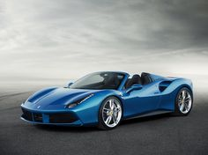 Ferrari blue.