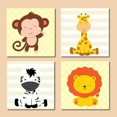 Artes decoração bebê Safari
