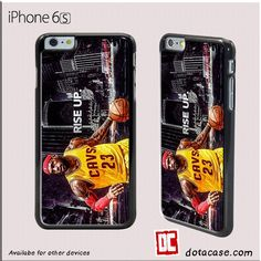 Rise Up Lebron For iphone 4/4S/5/5C/5S/6/6 Plus/7/7 Plus Case