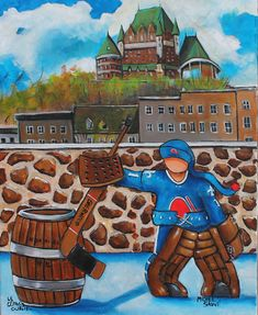 hockey Awesome Art, Cool Art, Quebec Nordiques, Nhl, Hockey, Photos, Marvel, Paintings, Draw