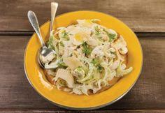 Salada de cogumelos frescos com erva-doce e parmesão   Panelinha - Receitas que funcionam