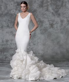 vestidos boda vicky martin berrocal - inspiración flamenco