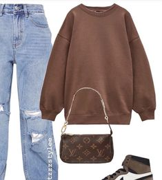 Chill Outfits, Cute Swag Outfits, Cute Comfy Outfits, Indie Outfits, Teen Fashion Outfits, Outfits For Teens, New Outfits, Trendy Outfits, Outing Outfit