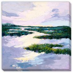 Gallery Direct Maxine Price's ' Meadows II' Gallery Wrap Art